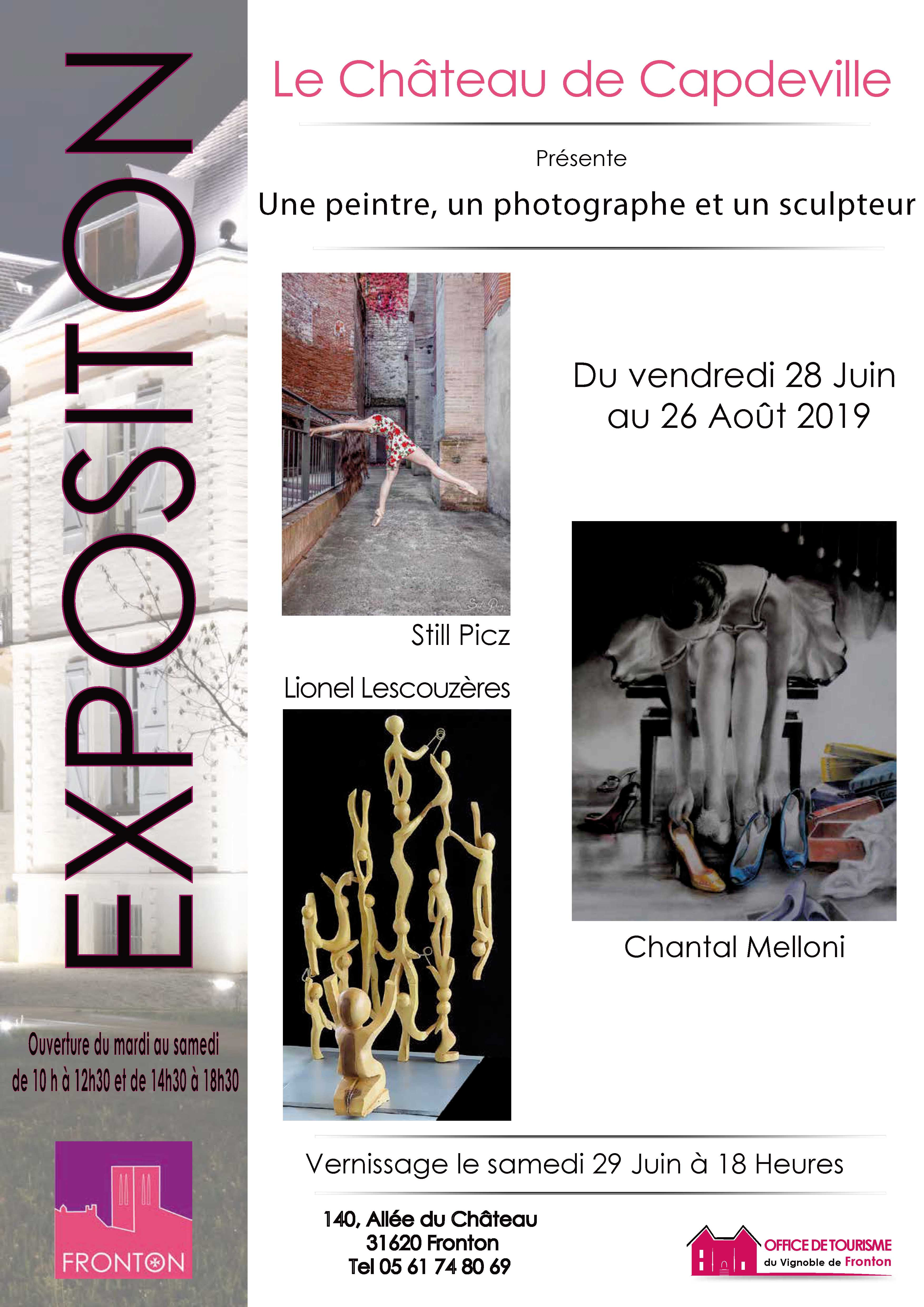 Expo chateau Capdeville